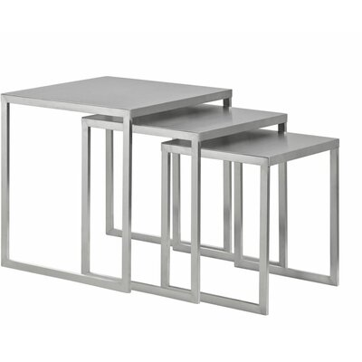 Modway 3 Piece Nesting Table