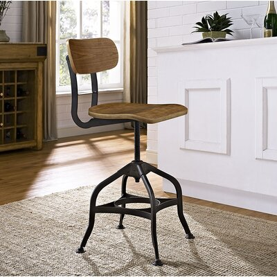 Modway Adjustable Height Swivel Bar Stool