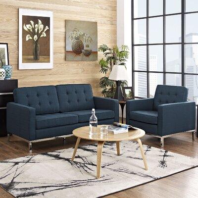 Modway Loft 2 Piece Living Room Set