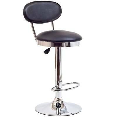 Modway Retro Adjustable Height Swivel Bar Stool