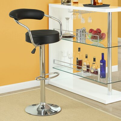 Modway Diner Adjustable Height Swivel Bar Stool (Set of 2)