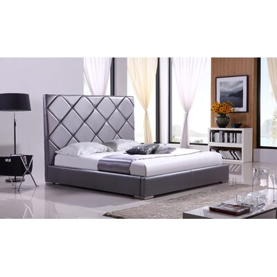 Casabianca Furniture Verona Upholstered Platform Bed