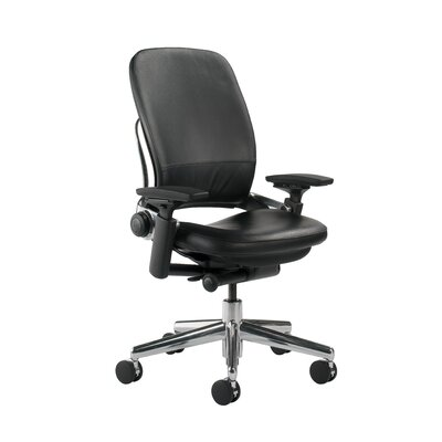 Steelcase Leap® Leather Office Chair wit..
