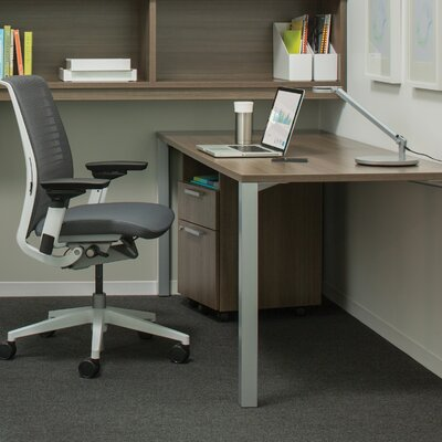 Steelcase 3-Drawer Mobile Classic Payback Pedestal