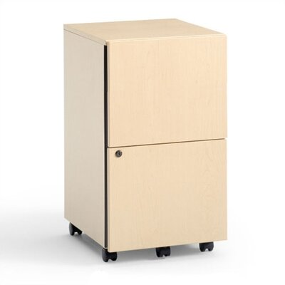 Steelcase 2-Drawer Mobile Classic Payback File/File Pedestal