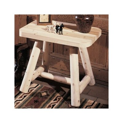 Rustic Natural Cedar Furniture Log End..