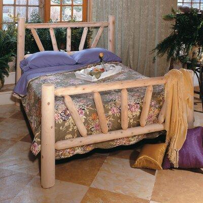 Rustic Natural Cedar Furniture Log Style Beds Panel Bed