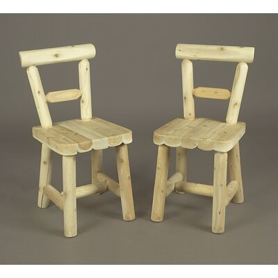 Rustic Natural Cedar Furniture Cedar Side Chair Image