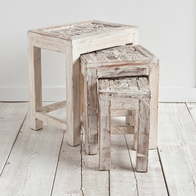 Mercana Tintamerre 3 Piece Nesting Tables