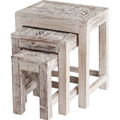 Bungalow Rose Adelaide 3 Piece Nesting Tables