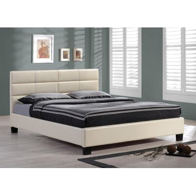BOGA Furniture Upholstered Platform Bed