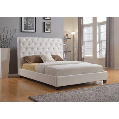 BOGA Furniture Milan Upholstered Platform Bed