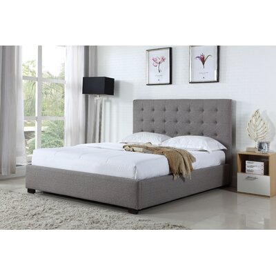 BOGA Furniture Genova Queen Upholstered Panel Bed