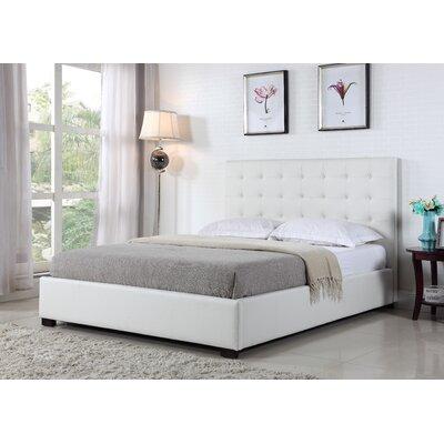 BOGA Furniture Genova Upholstered Platform Bed