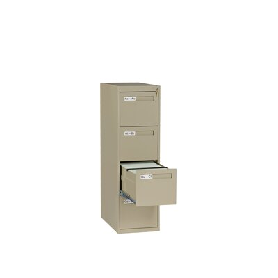 Tennsco Corp. 4 Drawer Vertical Letter Size File Cabinet