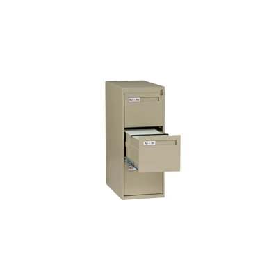 Tennsco Corp. 3 Drawer Vertical Letter Si..