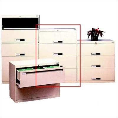 Tennsco Corp. 4-Drawer  File