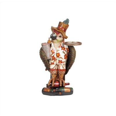 RAM Game Room Large Parrot Character Waiter Outdoor Table