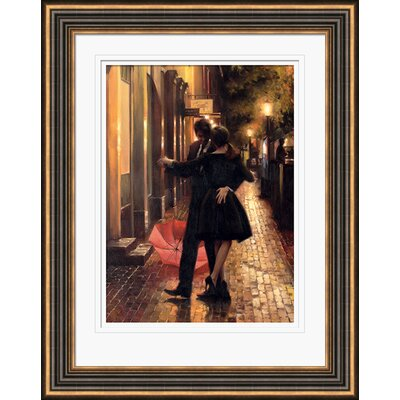 Art Group Spontaneous by Daniel Del Orfano Framed Painting Print