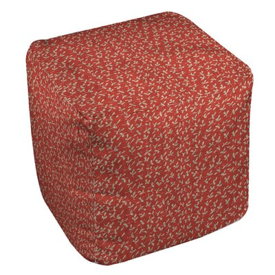 Manual Woodworkers & Weavers Dream Big Ditsy Florals Ottoman