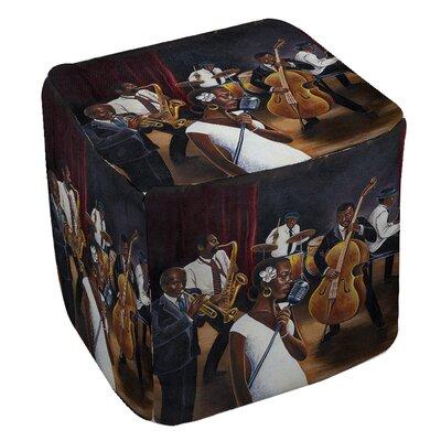 Manual Woodworkers & Weavers Jazz Affair Ottoman