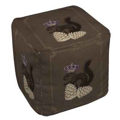 Manual Woodworkers & Weavers Luxury Lodge Squirrel Ottoman
