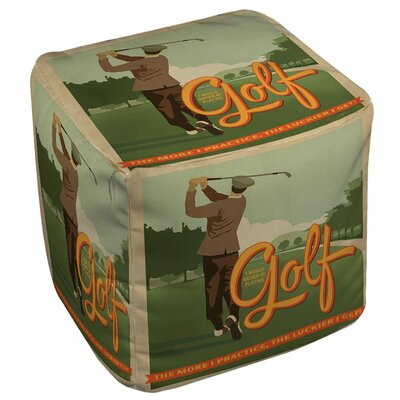 Manual Woodworkers & Weavers Golf Bad Day Ottoman