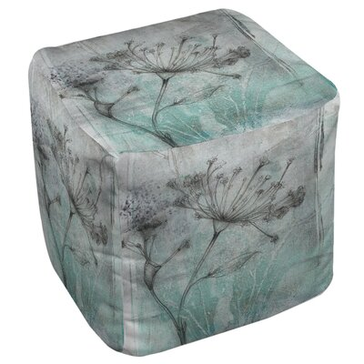 Manual Woodworkers & Weavers Ombre Wildflowers 1 Ottoman