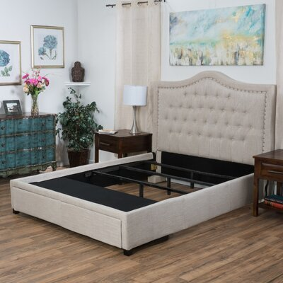 Darby Home Co Saltsman Upholstered Storage Panel..