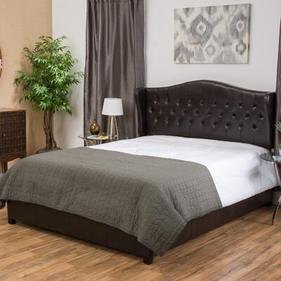 Three Posts Sorrento Upholstered Panel Bed