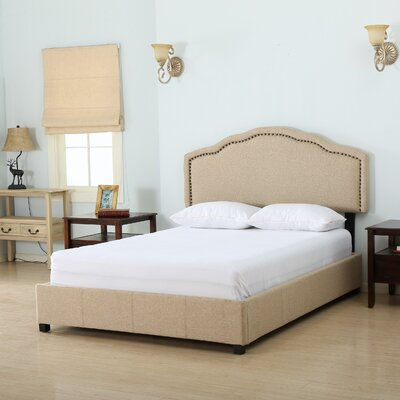 Three Posts Boston Upholstered Storage Panel Bed