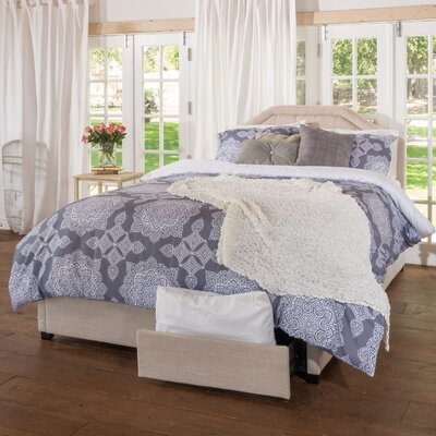 Home Loft Concepts Lexi Upholstered Panel Bed