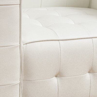 Mercury Row Garlick Tufted Club Chair