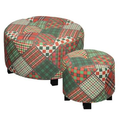 ESSENTIAL DÉCOR & BEYOND, INC 2 Piece Ottoman Set