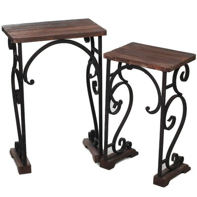 ESSENTIAL DÉCOR & BEYOND, INC 2 Piece End Table Set