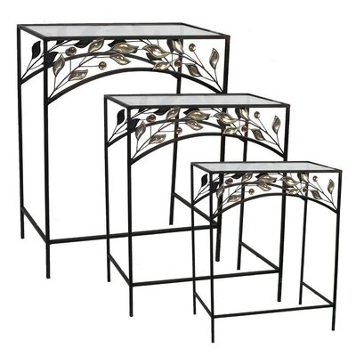 ESSENTIAL DÉCOR & BEYOND, INC 3 Piece End Table Set