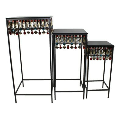 ESSENTIAL DÉCOR & BEYOND, INC 3 Piece Nesting Tables
