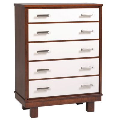 Capretti Design Liscio 5 Drawer Chest