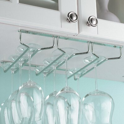 Mind Reader Hanging Wine Glass Rack