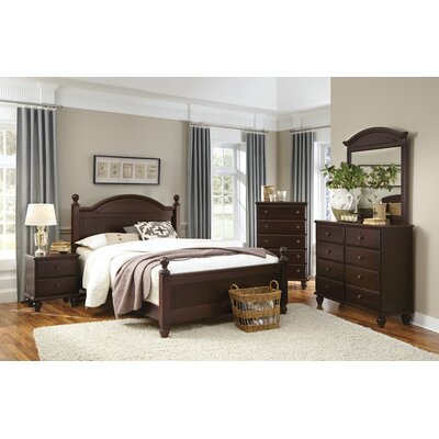 Carolina Furniture Works, Inc. Craftsman Panel Customizable Bedroom Set