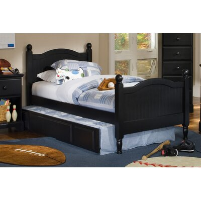 Carolina Furniture Works, Inc. Midnight Panel Bed with Trundle