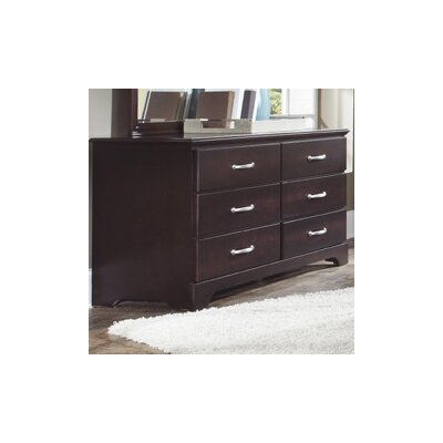Carolina Furniture Works, Inc. Signature 6 Drawer Dresser