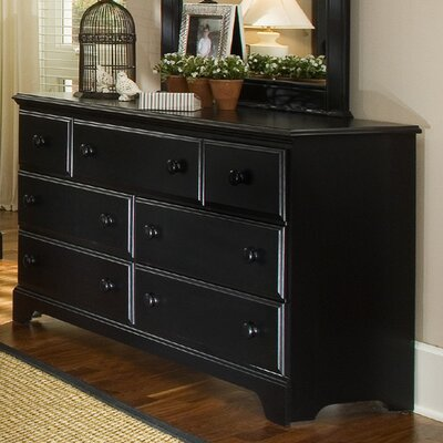 Carolina Furniture Works, Inc. Midnight 7 Drawer Dresser
