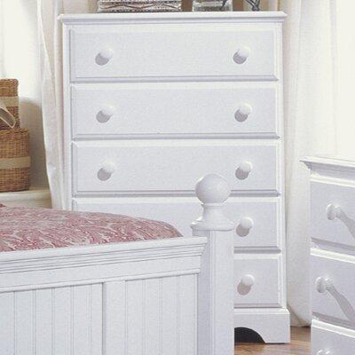 Carolina Furniture Works, Inc. Carolina Cottage 5 Drawer Chest