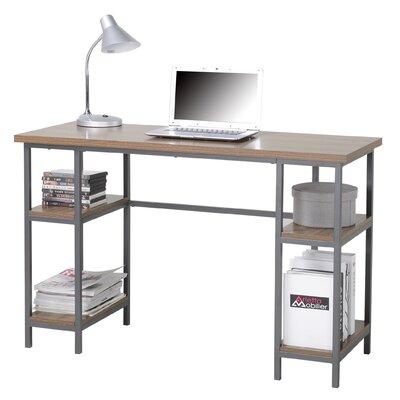 Homestar Computer Desk with 4 Shelves