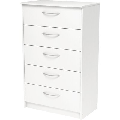 Homestar Finch 5 Drawer Chest