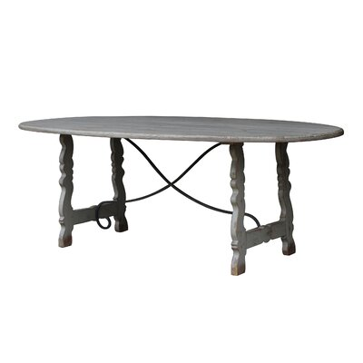 White x White Navarre Dining Table