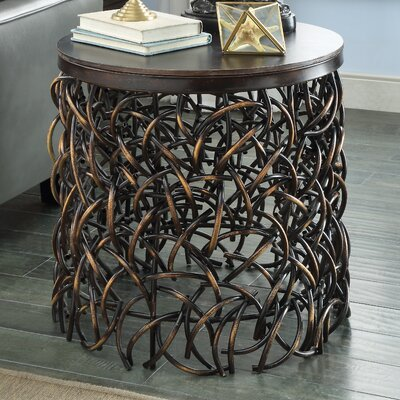 World Menagerie End Table