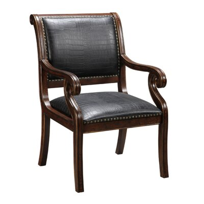 Coast to Coast Imports LLC Leather Arm Chair in ..