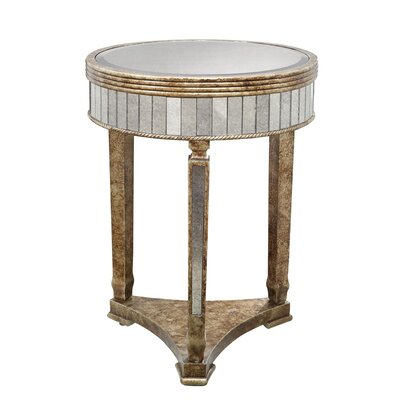Coast to Coast Imports LLC Mirror Accent End Table